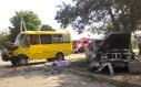 Міліціонер, з вини якого на Новомиколаївці загинуло дві пасажирки маршрутки, на волі, бо допоміг постраждалим?